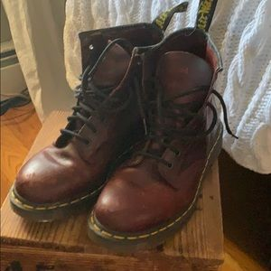 Sz 9 ladies 8 men's doc martens.